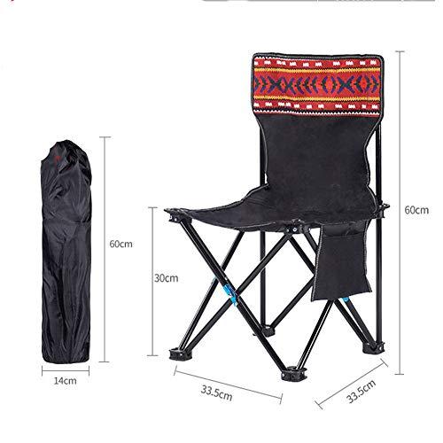 Silla plegable para playa o camping, ligera, portátil, para playa, festival, pesca, al aire libre, para viajes, sentado reclinable, para pesca, camping moderno Size 6