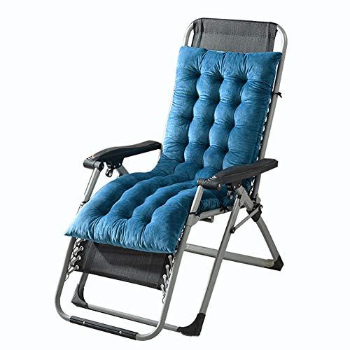 Kussens met lange stoelkussen - Chaise Longue kussen schommelstoel kussen bank bank kussen Tatami mat raam mat stoel kussen, binnen/buiten Chaise ligstoel kussen 130 * 50 * 10cm(51 * 19 * 4inch) D