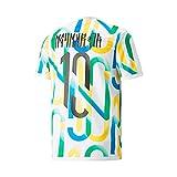 PUMA Neymar Jr Copa Graphic Brazil Collection T-Shirt, Weiß L weiß