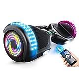 Generic Brands Scooter Autoequilibrante Aerotabla Eléctrico Inteligencia Adulto Bluetooth Niño Dos Rondas