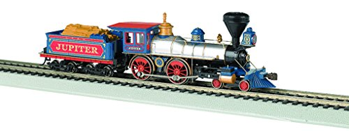 Bachmann Industries 4-4-0 American Steam DCC Central Pacific #60 Jupiter Wood Load Locomotive (HO Scale) -  Bachmann Industries Inc., 52702