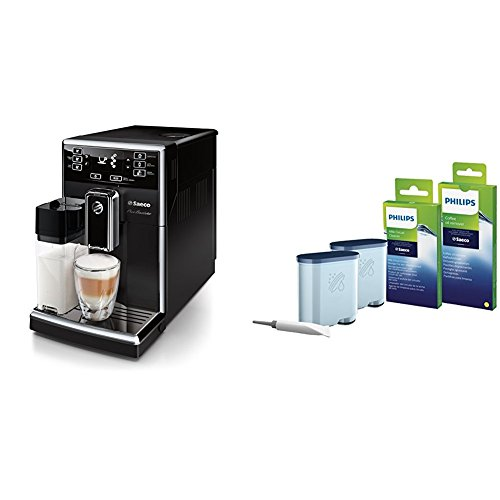 Saeco PicoBaristo HD8925/01 Kaffeevollautomat (220 W, integriertes Milchsystem) schwarz