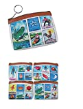 Loteria Mexican Lottery Coin Purses Party Favors Assorted Prints (CosMp85) (Wholesale - 6 Bags)