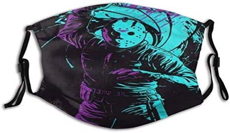 Viohik Unisex Balaclava Scary Killer Jason Voorhees Friday th Horror Movie Themed Face Mask product image