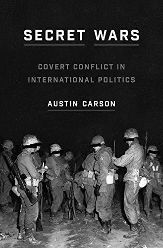Secret Wars: Covert Conflict in International Politics: 168