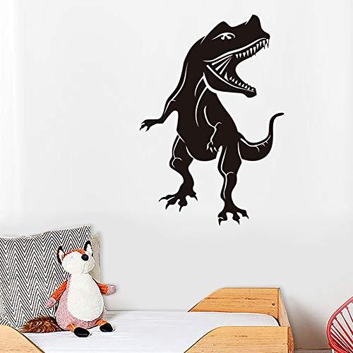 Adesivo murale dinosauro Adesivo murale in PVC decalcomania decorazione camera da letto gioventù decalcomania decorazione della casa rimovibile wall sticker A4 38x57cm