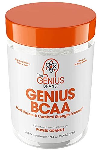 Genius Bcaa Powder with Focus & Energy – Multiuse Natural Vegan...