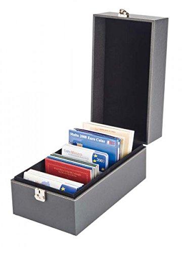 LINDNER Das Original NERA Koffer Multi für Kurs- und Gedenkmünzensätzen, Postkarten, Briefe, Briefmarken auf Steckkarten u.v.m.