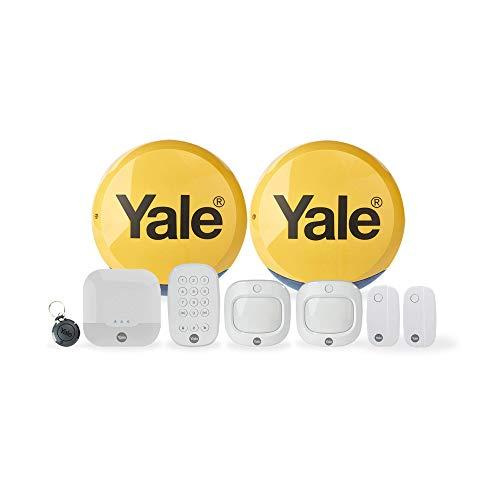 Yale IA-330 sistema de alarma de seguridad Blanco - Sistemas de alarma de seguridad (Inalámbrico, Android,iOS, Línea telefónica, Completo, Parcial, 868 MHz, 200 m)