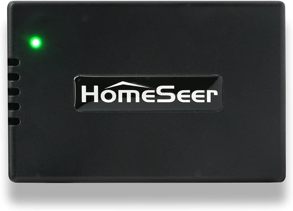 HomeSeer HomeTroller Pi G2 Smart Home Hub | Compatible with Alexa, Google Home, IFTTT, Z-Wave, HUE, Ecobee, MyQ & Much More