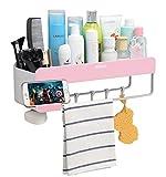 Adhesive Bathroom Shelf Storage Organizer Wall...