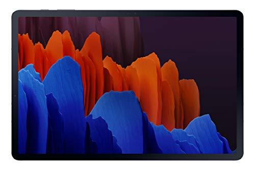 Samsung Galaxy Tab S7+ 31.5 cm (12.4 inch) Super AMOLED 120 Hz Display, S-Pen in Box, Quad Speakers, 6 GB RAM 128 GB ROM, Wi-Fi Tablet, Mystic Black