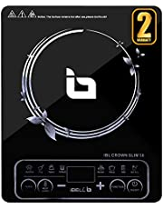 iBELL Hold The World. Digitally! BIS Certified Slim50 2200 Watt with Auto Shut Off and over Heat Protection Induction Cooktop, Black