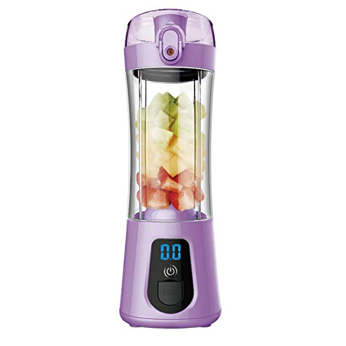 Lowest Prices! SSCJ USB Juicer Cup Portable Blender Rechargeable Three Blades in 3D, Fruit Mixing Ma...