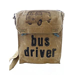 Bus driver, recycling Tasche, oliv, VW Bus, Bully