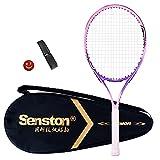 Senston 19'' Racchetta da Tennis in Alluminio Racchetta da Tennis per con Borsa + 1 Grip +...