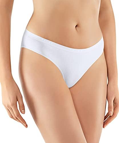 FALKE Damen Daily Comfort Mini 2-Pack W UW Slip, Weiß (White 2000), L (2er Pack)