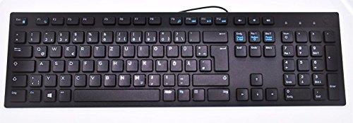 DELL USB Keyboard KB216 BLACK SLIM German QWERTZ Layout, Dell P/N : MGRVG