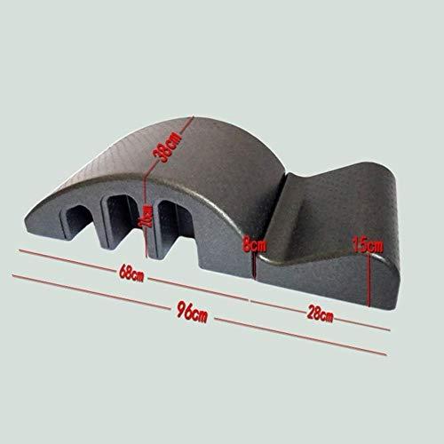 Pilates Wirbelsäulenkorrektor Pilates Spine Yoga Massage BedSpine Corrector Barrel Pilates Spine Corrector Ausrüstung Back Pain Relief Zurück Curve Abnehmbare Design-Ausdauertraining Einstellbare Komb