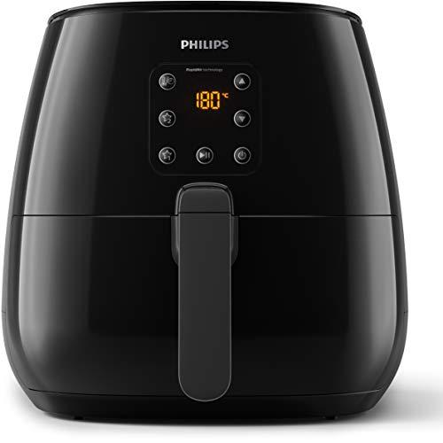 Philips HD9260/90 Airfryer XL - La original (freidora de aire caliente, 1900 W, para 3-4 personas, 1200 g de capacidad, pantalla digital), color negro