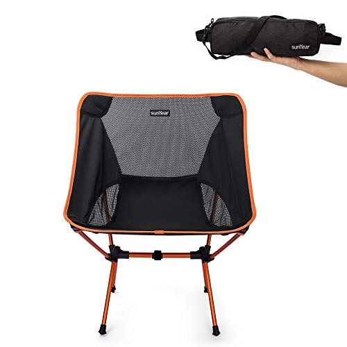 Sunyear Lightweight Compact Folding Camping Backpack Chairs,...