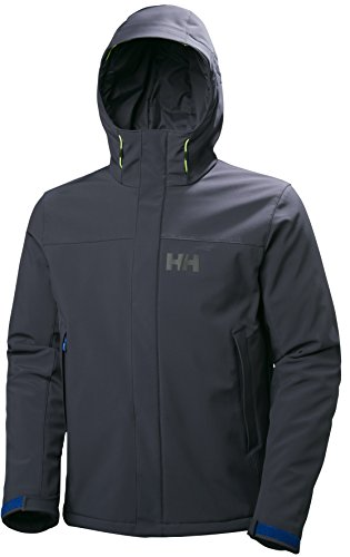 Helly Hansen Herren Jacke FORSETI INSULATED SOFTSHELL, Graphite blue, 2XL, 62772