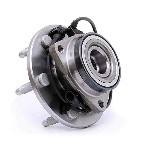 Price comparison product image 515036 Front Wheel Bearing Hub Assembly for Chevy Avalanche Express 1500 Tahoe Silverado 1500,  GMC Yukon Sierra Savana 1500,  Cadillac Escalade (EXT),  6 lugs W / ABS (4WD Only)