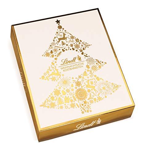 Lindt Weihnachtliche Kostbarkeiten Golden XMAS L, Präsentpaket Large, 1er Pack (1 x 1,962 g)