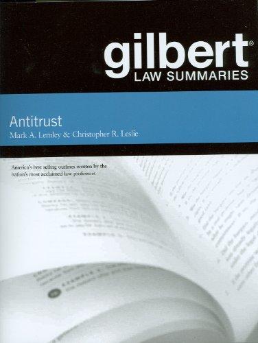 Gilbert Law Summaries on Antitrust