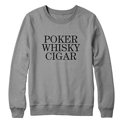 OneWhiteFox Poker Whisky Cigar Unisex sweatshirt voor dames en heren