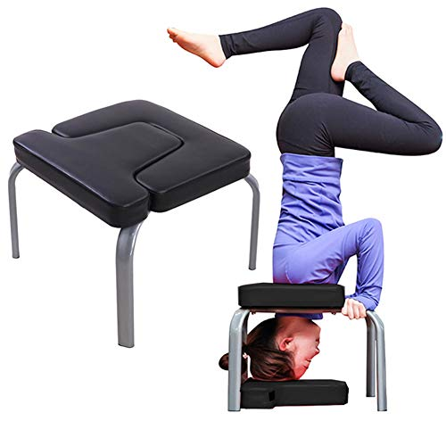 Lowest Prices! Flowing Water Yoga Headstand Bench - Stand Yoga Chair Inversion Bench Headstander for...