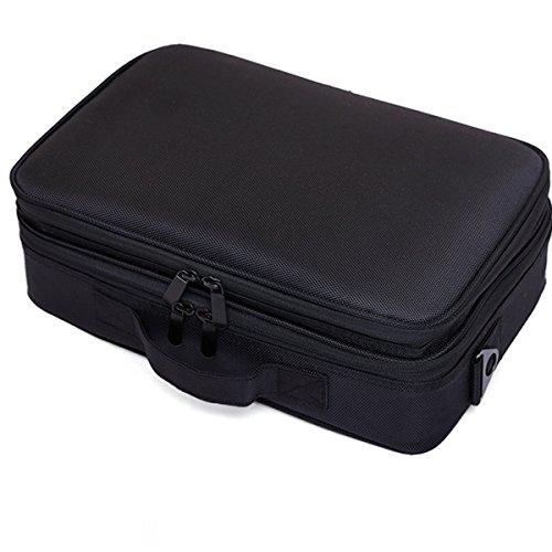 Grande Capacité Double Portable Simple Grand Cube Sac De Rangement Sac à Cosmétiques Couleur Unie,02-34*11*23cm