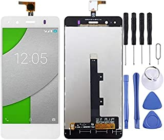 Beilaishi Reparationssats för mobiltelefoner LCD-skärm och digitaliserare full montering för BQ Aquaris A4.5 (svart) reser...