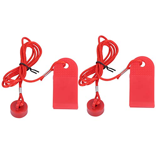 01 02 015 Running Machine Key, Treadmill Magnet Security Lock, Universal Red for Proform Treadmills Fitness