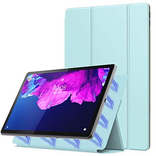 MoKo Hülle für Lenovo Tab P11 11 Zoll Folio Hülle 2020(TB-J606F),Starke Magnetische Schutzhülle mit Automatischem Schlaf/Aufwach,Lenovo p11 hülle - Hellblau