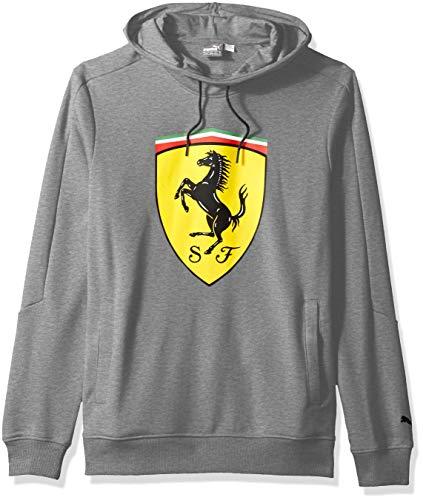 PUMA Men's Standard Scuderia Ferrari Big Shield Hoodie
