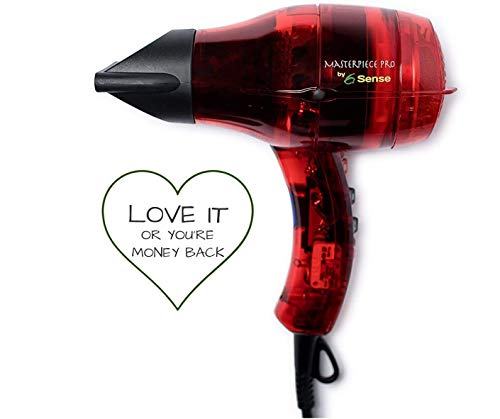 Professional Ionic Hair Dryer for Finest Salons, Handcrafted in France, Frizz-free, Long Lasting...