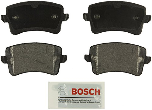 Bosch BE1386 Blue Disc Brake Pad Set for Select 2008-15 Audi A4, A5, allroad, Q5, S4, S5 - REAR