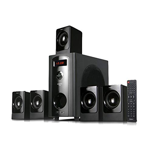 Impex 5.1 Lyric 70 W Multimedia Bluetooth Speaker System (Black)