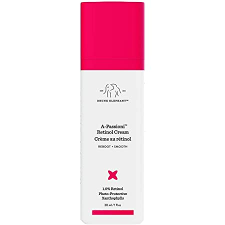 Drunk Elephant A-Passioni Retinol Anti-Wrinkle Cream. Brightening, Restorative and Vegan Face Cream with Vitamin F. 30 ml