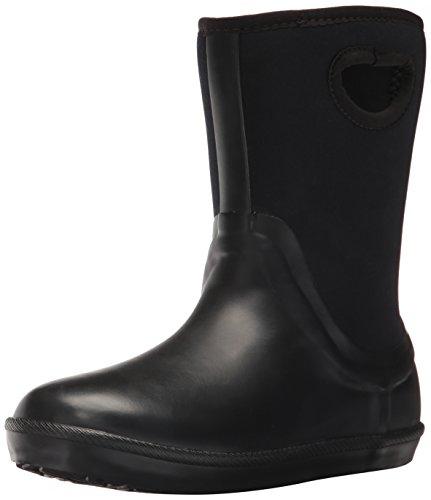 UGG Kids K Kex Rain Boot, Black, 3 M US Little Kid