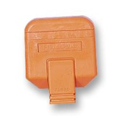 Permaplug-NC10//2 orange 2 broches en ligne connecteur-orange