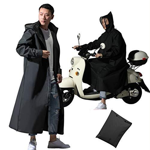 Imperméable Poncho scooter moto pour les hommes des femmes, extérieur imperméable au vent vélo/Ebike/moto/scooter faisant le cyclisme de veste de poncho imperméable Cape complète la protection