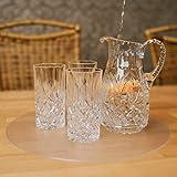 Profolio | Originale Tischfolie rund transparent mit abgeschrägte Kante | Hochglanz Tischdecke Tischschutz für Ihren Tisch 2mm | Made in Germany | Größe wählbar | 110 cm - 5