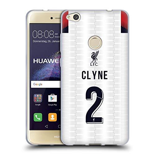 Head Case Designs Oficial Liverpool Football Club Mohamed Salah 2019/20 Jugadores Away Kit Grupo 1 Carcasa de Gel de Silicona Compatible con Huawei P8 Lite (2017)