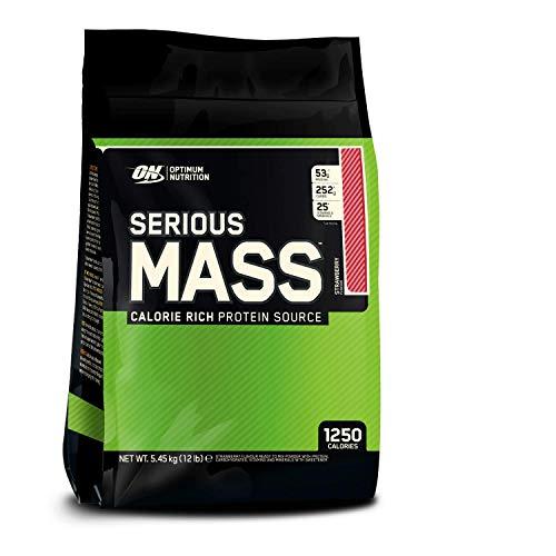 Optimum Nutrition Serious Mass 5455g Strawberry