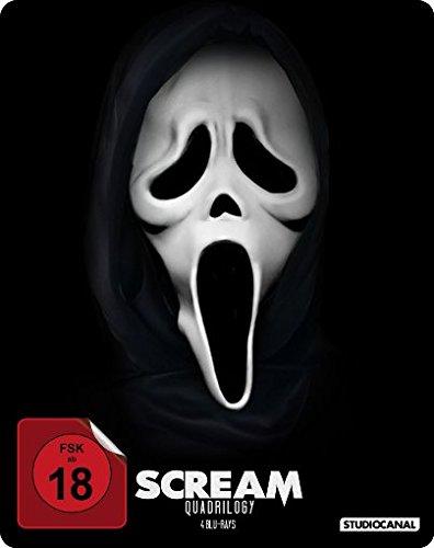 Scream 1-4 - Quadrilogy - Steelbook [Blu-ray]