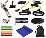 AIH Profit TRX Fitness - Set/Kit de Gimnasio, Deporte y Ejercicio en Casa - TRX Fitness -...