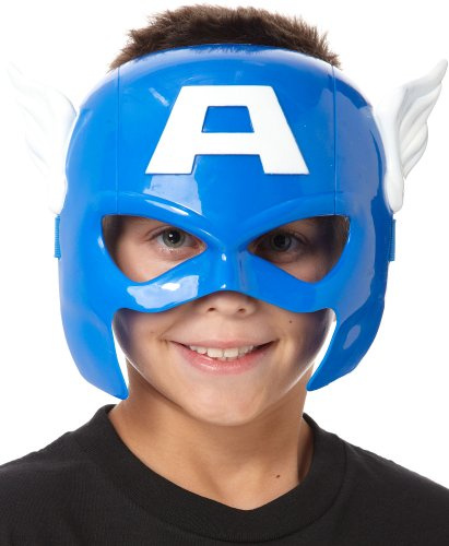 Marvel – Hero Mask – Captain America – Masque Enfant (Import Royaume-Uni)