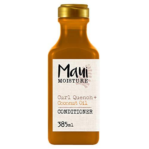 Maui Moisture, Acondicionador de Aceite de Coco para pelos Rizados, Define los...